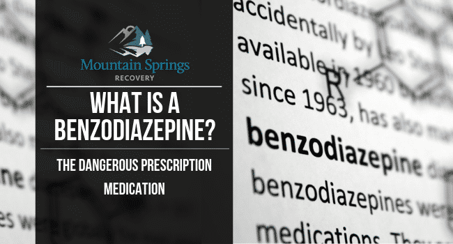 What is a Benzodiazepine?