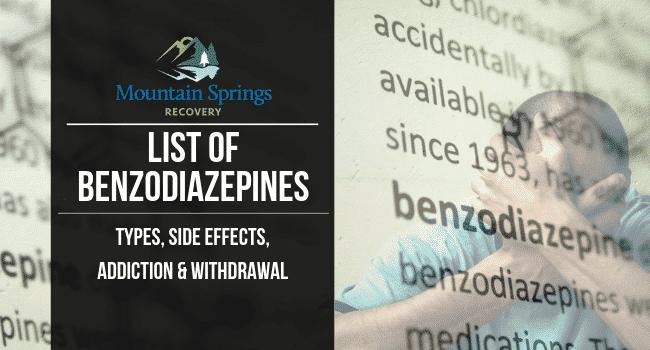 list of benzodiazepines