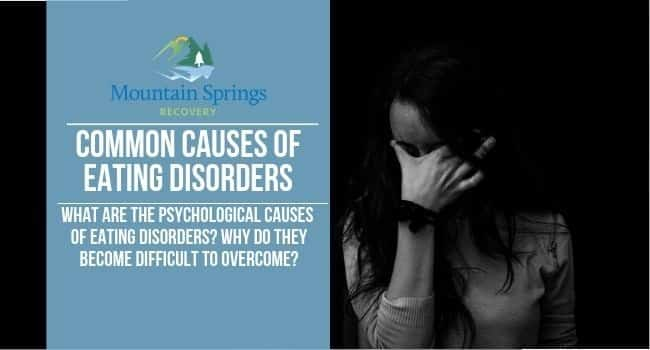 common causes of eating disorders