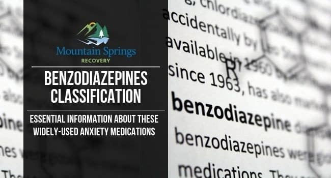Benzodiazepines Classification