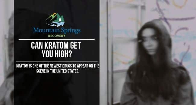 can kratom get you high