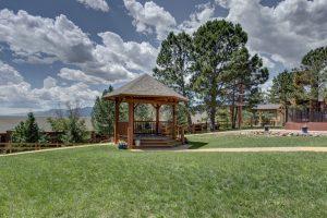 Mountain Springs Recovery gazebo