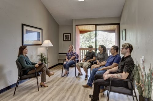 Mountain Springs Recovery group therapy