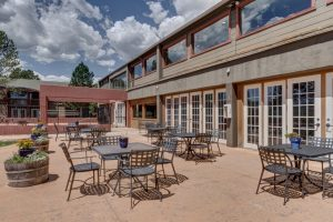 Mountain Springs Recovery patio